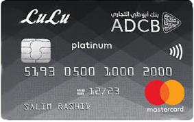 ADCB Lulu Platinum Card