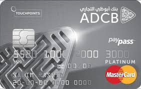 ADCB Touch Point Platinum Card