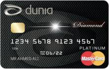 Dunia Diamond Credit Card