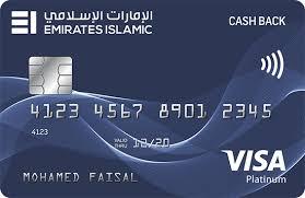 Emirates Islamic Cash back