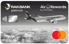 RAK Air Arabia Platinum Credit Card