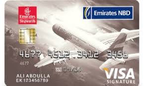 Emirates NBD SKYWARD Signature Credit CARD