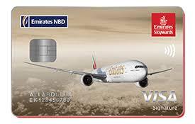 Emirates NBD SKYWARD Signature CARD