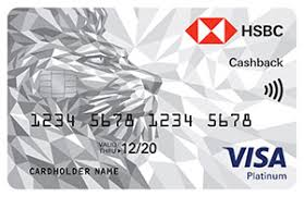 HSBC Cash Back Card