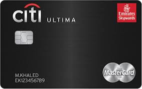 Citi Bank Ultima Skywards Card