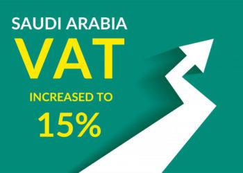 Vat in Saudi increase to 15 percent