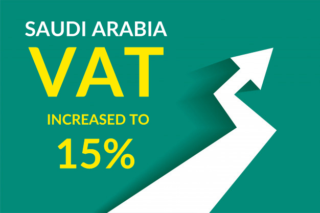 Vat in Saudi increase to 15 percent