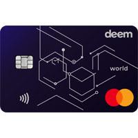 Deem Mastercard World Cash Up Credit Card