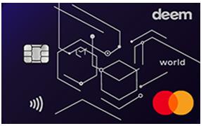 Deem-cash-up-World-card | apply credit cards online
